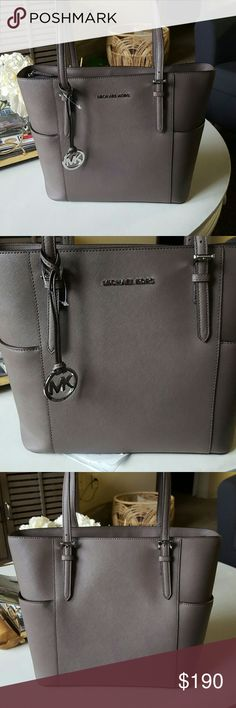 MK Jet Set Large Tote Cinder Brand new with tags. Bought it and changed my mind. Super cute Cinder color. Any questions, please ask! MICHAEL Michael Kors Bags Totes