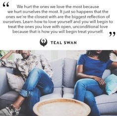 Swan Quotes, Teal Swan, It Hurts, Spirituality, Love You, Wisdom, Shit Happens, Marriage, Gift