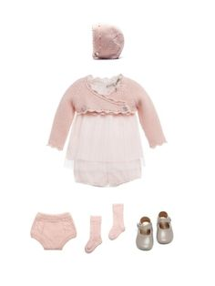 This baby girl outfit is beautiful