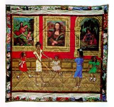 Dancing at the Louvre : Faith Ringgold's French Collection and Other Story Quilts by Akron Art Museum Staff and New Museum of Contemporary Art Staff Hardcover) for sale online Faith Ringgold Art, Visual Thinking Strategies, French Collection, American Quilt, New Museum, Museum Of Contemporary Art, Book Quilt, Ap Art, Viera