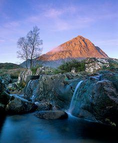 Beauchailla Etive in the Fall - Scotland