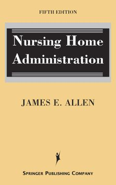 one day to have my own building as a nursing home administrator