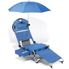 The Only Complete Beach Lounger!  Costs a car payment but it may be worth it!