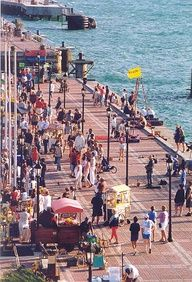 Sunset Celebration on the pier in  Key West FL...the city could not hire people to put on a show like this everyday...sure miss the party and characters.