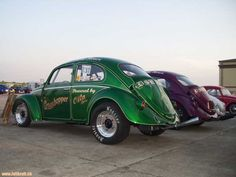 Vw Racing, Drag Racing, Custom Classic Cars, Custom Cars, Vw Modelle, Safari, Hey Joe, Cool Bugs, Vw Vans