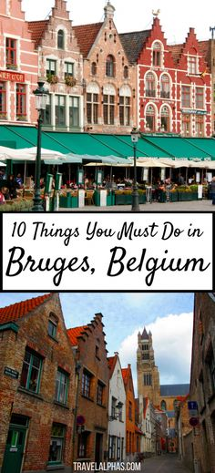 Looking for some Belgium travel inspiration to fuel your wanderlust? If you're visiting Belgium, make sure not to miss Bruges! While there, experience these 10 quintessential things to do in Bruges, and you will be in for an awesome two days. From the city's romantic canals, cobbled streets, and chocolate shops galore, to its bright-colored, centuries-old architecture and scrumptious food, Bruges is a city unlike any other. Here's is our guide to spending two days in Bruges, Belgium…