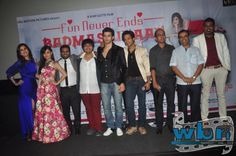 A hilarious skit and some really crazy revelations, that was the launch of Vijay Gutte's BADMASHIYAAN – trailer launch. The event was graced by the entire cast, namely Gunjan Malhotra, Karan Mehra, Sidhanth Gupta, Suzzana Mukherjee and Sharib Hashmi and also the director of the film Amit Khanna.  Read more: http://www.washingtonbanglaradio.com/content/24964115-badmashiyaan-trailer-got-launched#ixzz3Qs7GTmDV Via Washington Bangla Radio® Follow us: @tollywood_CCU on Twitter