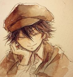 pixiv is an illustration community service where you can post and enjoy creative work. A large variety of work is uploaded, and user-organized contests are frequently held as well. Bungou Stray Dogs Ranpo, Stray Dogs Anime, Anime Manga, Anime Guys, Anime Art, Edogawa Ranpo, Detective, Anime Triste, Dog Wallpaper