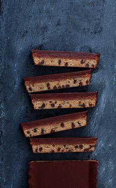 Chocolate Chip Nutella Cheesecake Bar. Shut. Up.