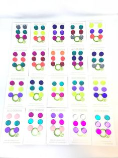 Image of Set náušnic Circle Fashion Marketing, Image, Fashion Design, Color, Black, Black People, Colour, Colors