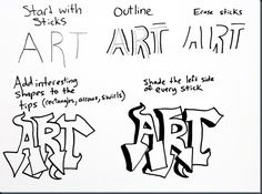 lettering for graffiti art Graffiti Kunst, Banksy Graffiti, Graffiti Artwork, Graffiti Lettering, Street Art Graffiti, How To Graffiti, Graffiti Writing, Grafitti Letters, Graffiti Text