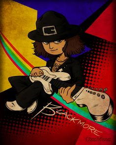 :Ritchie Blackmore: by OzzMena