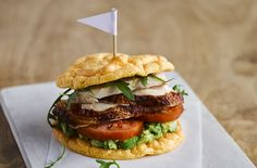Heard of cloud bread? This low-carb bread is made with eggs, cream cheese, a pinch of salt and cream of tartar, with no flour or grains - making it light and fluffy, just like a cloud! This 4-ingredient bread makes a lighter burger bun option, can be served just like pitta with falafel and salad or can be ripped and dipped into a tub of hummus. This recipe makes 8 slices and takes only 30 mins to prepare and bake. Try it at home and see what everyone's talking about. It's well worth t...
