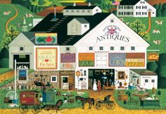 Buffalo Games Large Piece Peppercricket Farms  1000 Piece Jigsaw Puzzle by Buffalo Games *** Check this awesome product by going to the link at the image.Note:It is affiliate link to Amazon.
