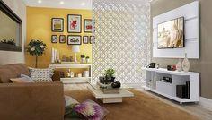 sala e cozinha integrada separada cobogo - Pesquisa Google