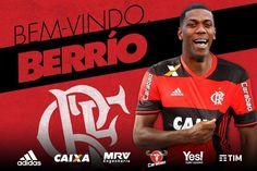 Bem-vindo, Orlando Berrío! A Maior Torcida do Mundo te abraça! O atacante colombiano agora é Mengão! #BerríodeJaneiro