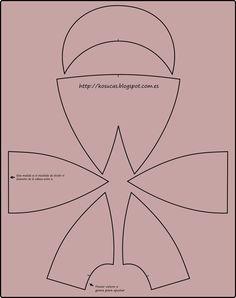 ARTE COM QUIANE - Paps,Moldes,E.V.A,Feltro,Costuras,Fofuchas 3D: Molde Boné jeans
