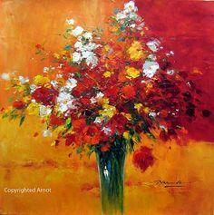 artnet Galleries: Colors in Red by Gerhard Nesvadba from Herbert Arnot, Inc ~ Arnot Gallery