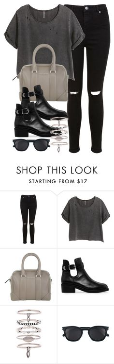 """Style #10872"" by vany-alvarado ❤ liked on Polyvore featuring Miss Selfridge, H&M, Givenchy, MANGO, Luv Aj and Yves Saint Laurent"