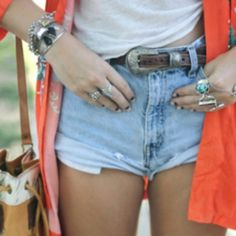 Boho, Clothes, Shorts