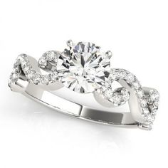 For the MODERN bride! Get your very own 'NATALIE' Diamond Engagement Ring today.