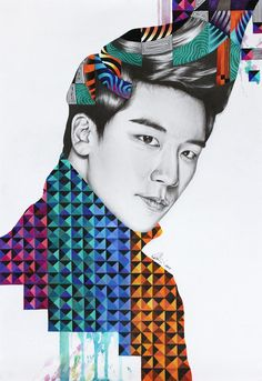 'Pyramid Print' artwork ft Seungri