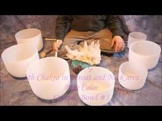 This Fine Crystal Chakra Singing Bowl Set is available for purchase at www.TempleSounds.net Crystal Quartz Singing Bowl ~14 min.total 7 Chakra Meditation 3 t...