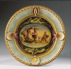 Minton majolica Lindsay Tray 1859 designed by Sir Lindsay Coutts and painted by Thomas Allen | Bonhams