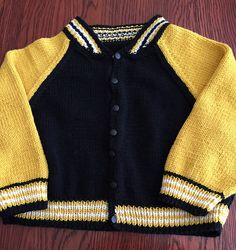 Ravelry: Project Gallery for Baseball Jacket pattern by Debbie Bliss