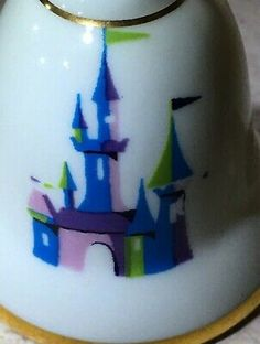Japan Walt Disney Production VIntage DIsneyland Castle Bell Salt & Pepper Shaker | eBay