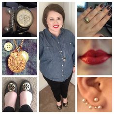 Shirt-Old Navy; Pants-Belk; Shoes-Tory Burch; Earrings-Wal Mart; Bracelets-John Hardy; Forever 21; Ring-Charming Charlie; Necklace-Handpicked; Nails-Essie Merino Cool; Lips-NYX Cherry Pie Now that …