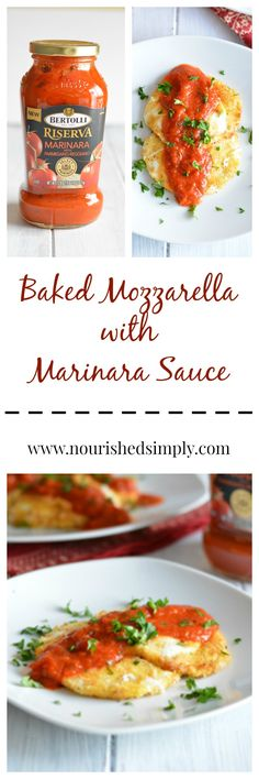 Baked Mozzarella is a quick and easy appetizer or snack recipe that will bring your whole family to the table. Sponsored Post