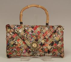 beautiful paper purse