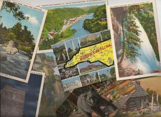 North Carolina postcards