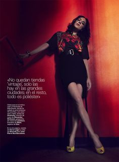 Chloe Sevigny by Gonzalo Machado for <em>S Moda</em>