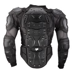 Fox Titan - Sport Jacket Upper Body Armor for Youth (back)
