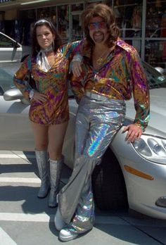 70's disco fashion. I don't know what else to say!!!!