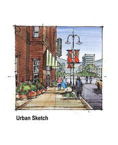 urban_sketch_color | Flickr - Photo Sharing!