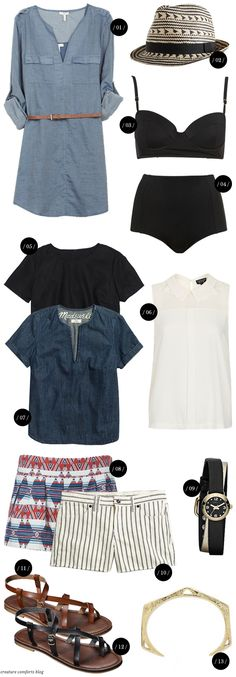 In My Imaginary Closet: Early Summer '13 Edition - Creature Comforts