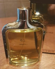 "Jaguar ""gold with patchouli and vanilla"""