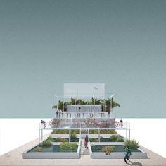 Francesco Librizzi, Bas Smets · Bahrain Pavilion ·