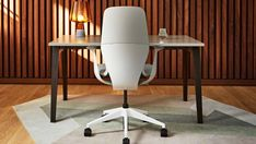 """Looking for a calmer comfort? This Copenhagen-influenced style invites you to sit, feel at home and experience the Danish concept of """"hygge."""" Understated and elegant, SILQ fits anyone, anywhere in the workplace. #SILQchair"""