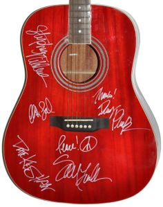 Sarah McLachlan Band Signed Acoustic Guitar by TheAutographGallery, $699.00