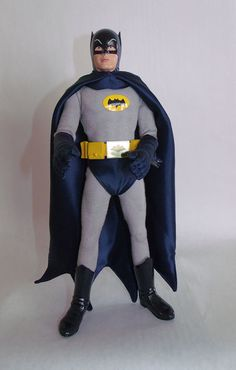 Batman custom action figure adam west via Etsy