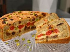 Cake de harina de maíz e higos