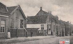 Het huis met de dakkapel was van M.G. van den Hurk, 40 jaar gemeenteraadslid voor Gestel en Eindhoven