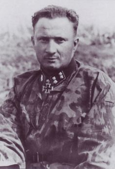 "SS-Sturmbannführer Ernst Haussler. Ernst Haussler, who won his Knight's Cross on Aug.18.43 for successful actions at and after Unternehmen Zitadelle. He served as the commander of II.Abteilung/SS-Panzer-Regiment3 of 3.SS-Panzer-Division ""Totenkopf"""