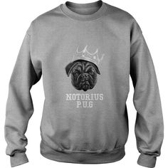 Notorious #PUG tshirt pets  anime  animals, Order HERE ==> https://www.sunfrog.com/Pets/125889482-741258171.html?6432, Please tag & share with your friends who would love it, #xmasgifts #renegadelife #jeepsafari
