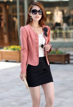 Step into #Stylish #Fashion with This Gorgeous #Women's Korean Fashion Long Sleeve #Blazer  #FreeShipping #Worldwide   #ShopOnline at http://www.cecaca.com.sg/women-korean-fashion-long-sleeve-blazer/