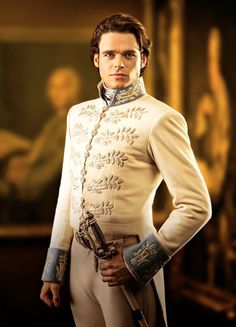 Richard Madden in 'Cinderella' (2015). Even if this one is already pinned, it is worth pinning again.